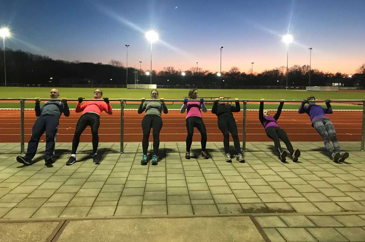 Bootcamp Training op Sportpark Vierhoeven