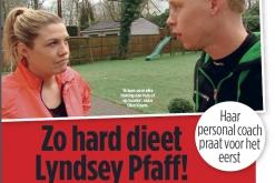 Lyndsey Pfaff met Personal Trainer Dion