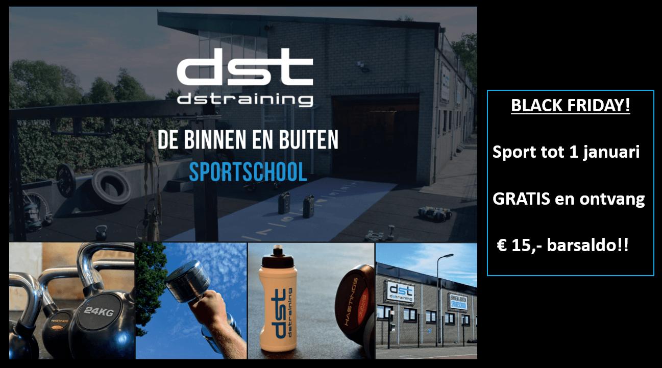 Black Friday sportschool Roosendaal