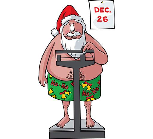 4 tips om tijdens de feestdagen op je gewicht te letten