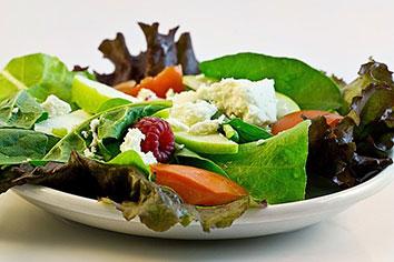 Recept salade met hüttenkäse