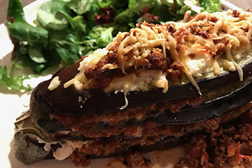 Recept voor een lekkere aubergine